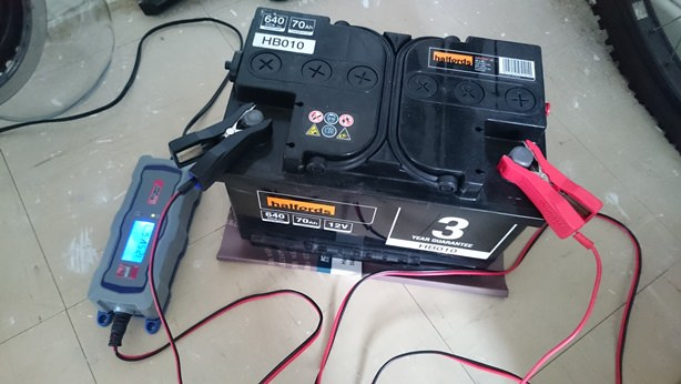 Voltage Of A Car Battery To Start