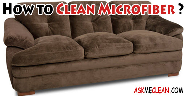 How To Clean Microfiber At Home Diy Http Askmeclean