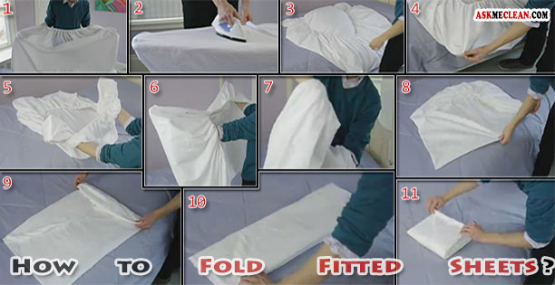 How To Fold Fitted Sheets