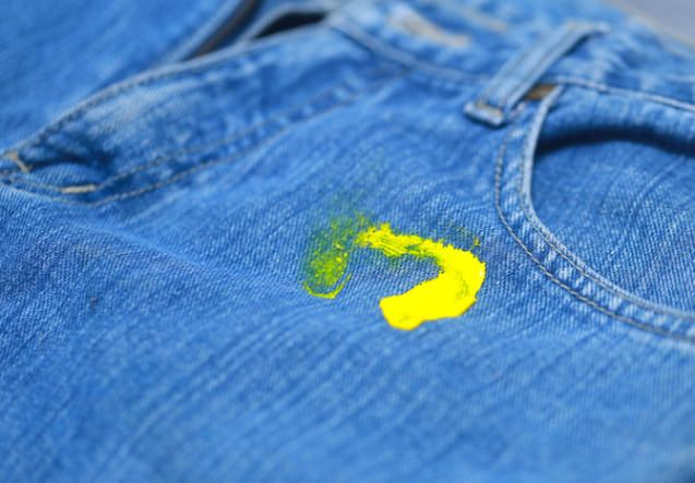 What Can Remove Paint From Clothes